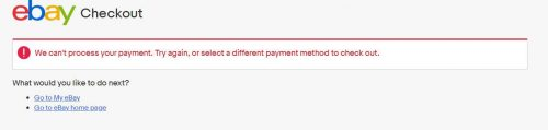 не могу оплатить картой payoneer на ebay 2019 амазон paypal