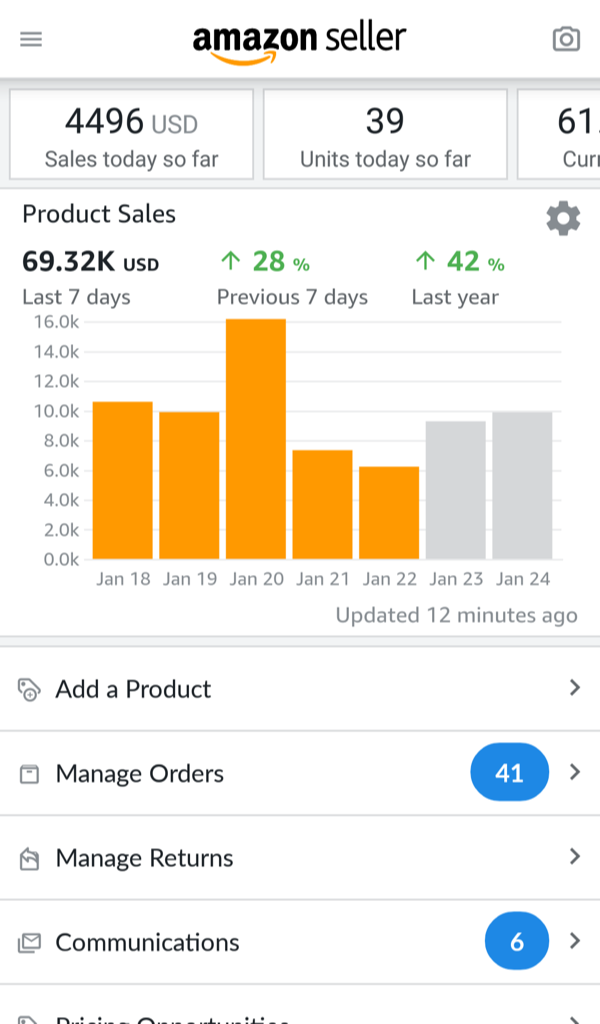 amazon business account vs seller account