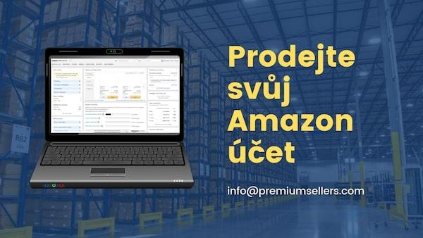 Prodejte svůj Amazon účet - jak prodat účet prodejce Amazon 2020