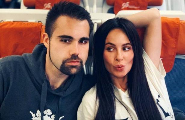 Саша Зверева с будущим мужем Дэном