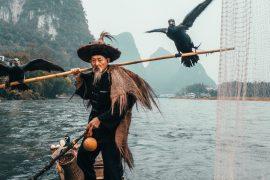 Cormorant fishing in China by Peter Yan instagram (@yantastic) 2019 travel china
