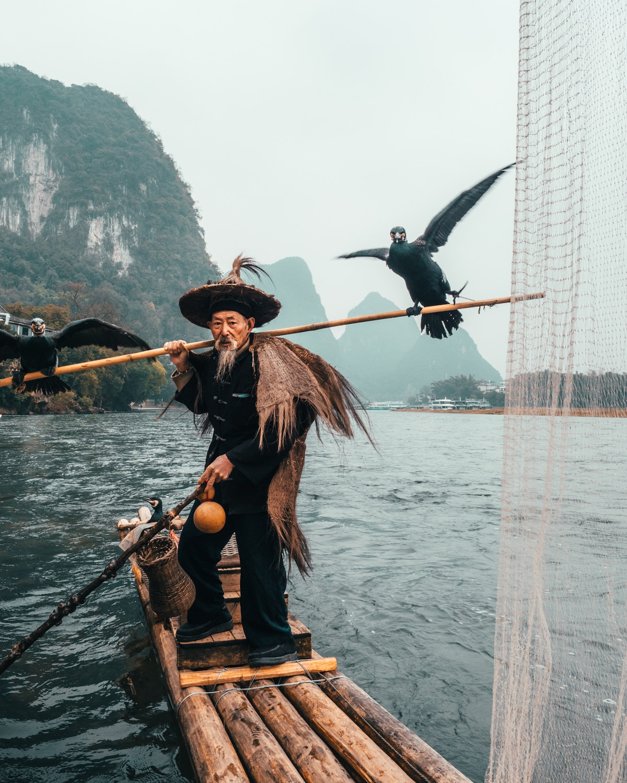 Cormorant Fishing in China by Peter Yan (@yantastic) - Hype Gram
